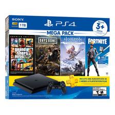 Consola Playstation 4 Ps4 1tb Mega Pack Bundle 6
