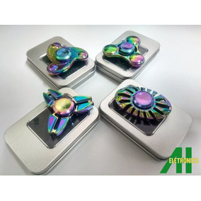 Kit 4 Fidget Hand Spinner Metal Rolamento Barato