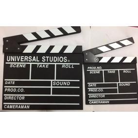 Claqueta Para Fiestas O Videos Tematicos Hollywood 100% Orig