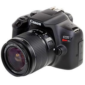 Cámara Canon Rebel Mod. T6 Ef-s 18-55mm
