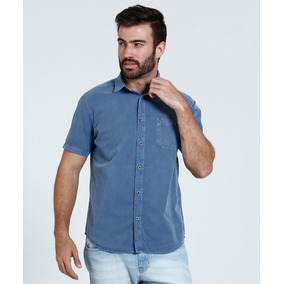 Camisa Social Reserva Original Homem - Camisa Manga Curta Masculinas ... c696f757eeee5