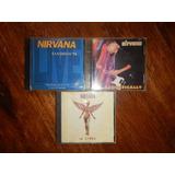 Coleccion Nirvana - Bootlegs Originales- In Utero Lea Abajo