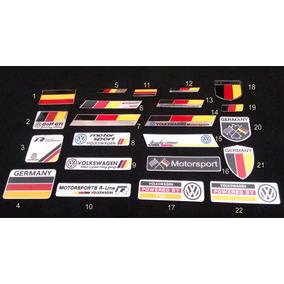 Emblema Vw Alemanha - Para Todos Os Modelos