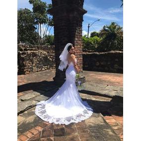 Vestido De Noiva Semi-sereia