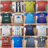 Camisas De Times De Futebol - 10 Unidades Para Revenda