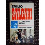 Emilio Salgari El Corsario Negro Usado Bruguera