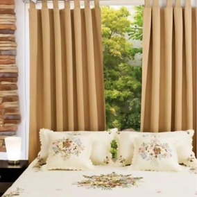 Cortinas A Medida Blackout Textil Voile Madras Tropical Mec