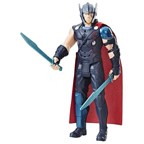 Boneco Eletrônico Falante Marvel Thor Ragnarok Hasbro B9970