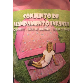 Tenda Barraca Toca Infantil Lalaloopsy Casinha Rosa Menina. São Paulo · Barraca  Infantil Saco De Dormir Unicornio Festa Pijama b90bd7f1616