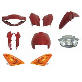 Pisca Farol Biz 100 Carenagem Completa Vermelho 1998 A 2001