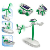 Kit De Juguete Solar Educativo Maikou 6 En 1