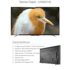 Televisor Aoc 58 Led Full Hd 1080p +más Convertidor Smart