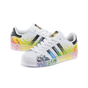 Tenis adidas Superstar Pride Pack Dama Oferta