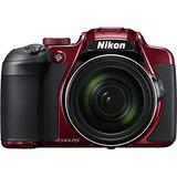 Cmara De Foto Digital Nikon Coolpix B700 Color Roja Zoom O