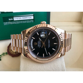 3f40ad52b33 Relogio Rolex Presidente Medio 31mm De Luxo Masculino - Relógios De ...