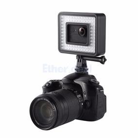 Iluminador Led Video Fotografia Filmagens Potente Dslr E Etc