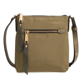 Marc Jacobs Cartera Verde Army Tropper Crossbody Nylon