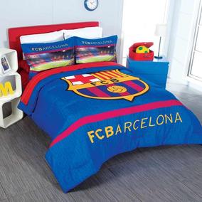Edredón Con Funda Fc Barcelona Individual Marca Intima