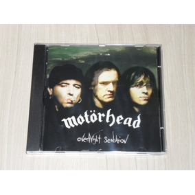 Cd Motorhead - Overnight Sensation 1996 (alemão)