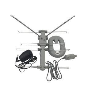 Antena Digital Interna Hda-007 150 Km Uhf Hdtv Vhf Fm Menor$