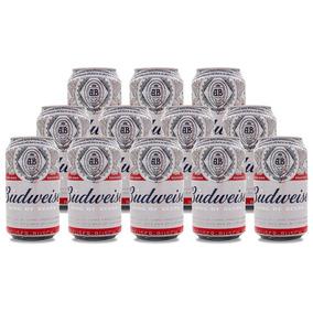 Cerveza Budweiser Lata 355 Cc Pack X 12 Unidades