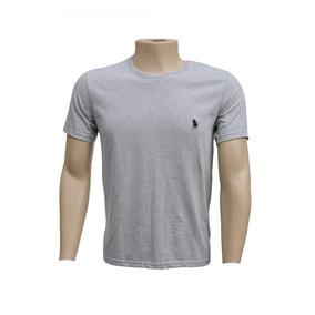 809e839e416 Camisa Casual Manga Curta Cor Principal Cinza em Mato Grosso do Sul ...