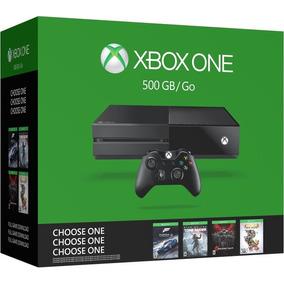 Console Xbox One 500gb - *escolha Seu Jogo (prod De Vitrine)