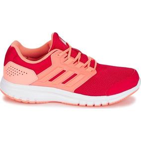 Tenis adidas Niña Para Correr Transpirable Resistencia Rosa