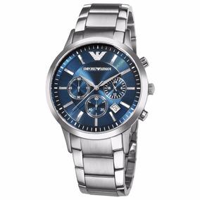 e480c7eee8f Relógio Emporio Armani Ar2448 Prata Azul Com Caixa Em Oferta · R  339 99. 12x  R  28 sem juros