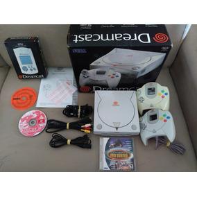 Dreamcast Tectoy Na Caixa,2 Controles,jogo,vmu