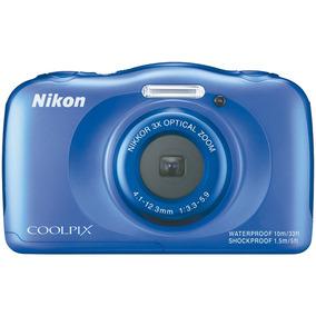 Cámara Nikon Mod. W100 13mp