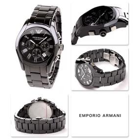 a348ff4dd92 Relogio Bmw42854 Emporio Armani Ar1400 Preto Ceramica+caixa · R  989. 12x R   82 sem juros