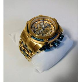 Relógio Invicta Bolt Zeus 12900 Azul Original Frete Gratis