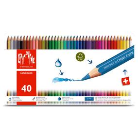 Lápices De Colores Caran D´ache Fancolor 40un - 1288340
