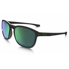 Óculos De Sol Oakley Enduro - Black Ink/jade Iridium Polariz