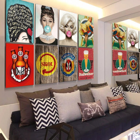 Placa Decorativa 20x30 Mais De 7000 Modelos Bar Retrô+brinde