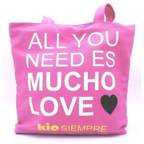 Bolsa Con Cierre Kio Mucho Love