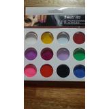 Polvo Acrilico De Colores Estuche C/ 12 Colores Uñas Acrilic
