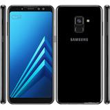 Celular Smartphone Samsung A530f Galaxy A8 2018 Negro