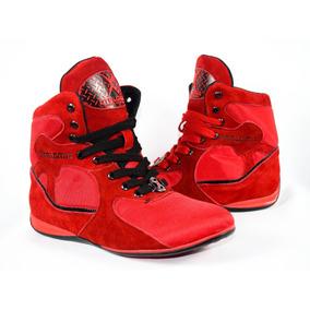 Tenis Rojos Tipo Bota Moda Gym!