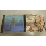 Lote 2 Cd Originales Nirvana - Nevermind - Sliver