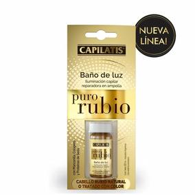 Ampolla Capilatis Bañode Luz Puro Rubio 10 Ml