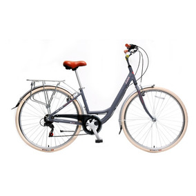 Bicicleta Dama Juan Rambla Gris Aluminio Bicijuan