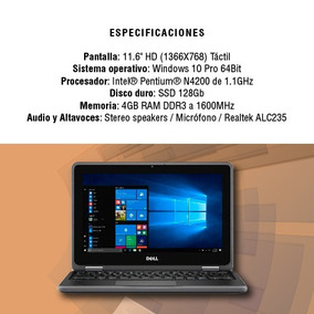 Notebook Dell Latitude 3189 2-in-1 11.6 128gb 4gb Touch