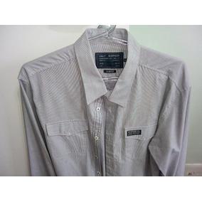 Camisa Manga Longa Listrada Masculino M Officer Original 700b15df6162e