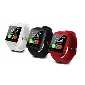 Reloj Smartwatch Pro U8 Negro Rojo Blanco