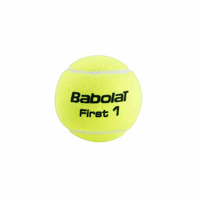 Pelota De Tenis Babolat First - Tubo De 3 Pelotas