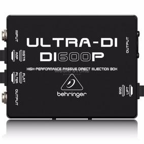 Caja Directa Behringer Di 600p Vmusic