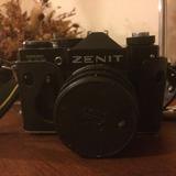 Zenit, Cámara De Fotos Origen Ruso De Colección