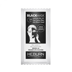 Máscara Peel Off X6g Black Mask Heburn